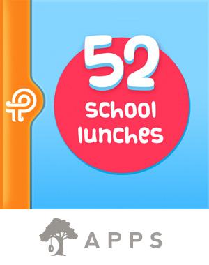 52 School Lunches (App)
