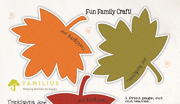 photograph about Free Printable Fall Leaves named Familius Free of charge printable: Thanksgiving contentment leaf garland