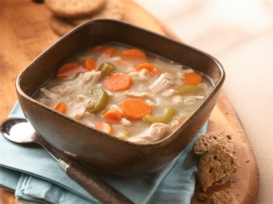 Betty Crocker's homemade turkey soup