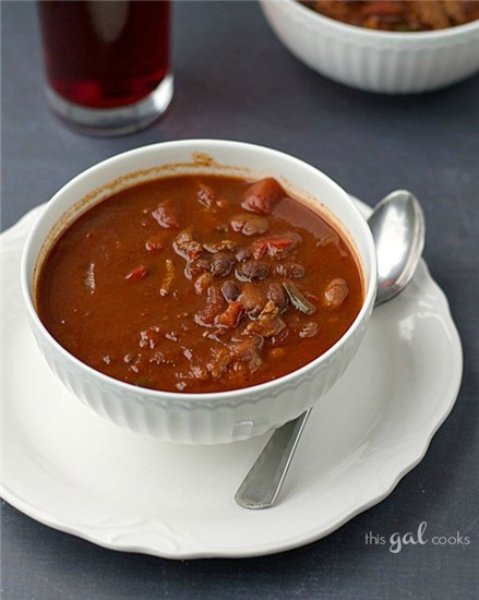 Crockpot chili recipe