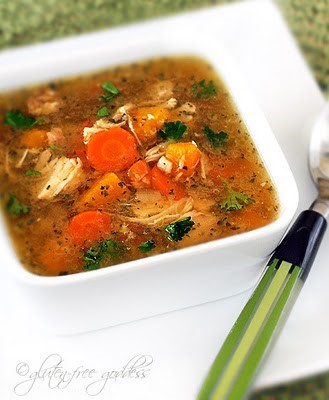 Gluten free turkey soup recipe
