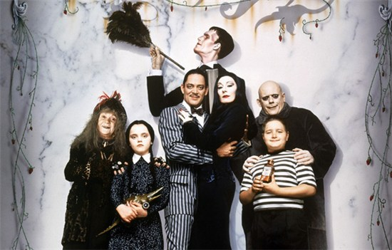 The Addams Family movie cast